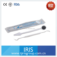 {Update April 2016}Orthodontics Surgery Kits 2-in one Disposable Dental Mirror Probe