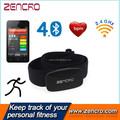 Fitness waterproof bluetooth heart rate monitor chest belt