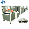 Plastic PVC Electrical Cable Trunking Profile Making Machine/ Panel Extrusion Line