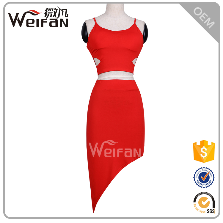 Beautiful Girl Without Party Wear Western Hot Sale Luxury Fabric Knee Length Dress
