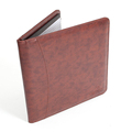 Brown Professional Business Padfolio Portfolio Organizer Folder for Office and Promotion
