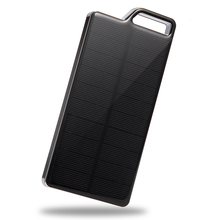 High Capacity Portable mobile phone External Battery Pack Solar Rohs Power Bank 10000mah