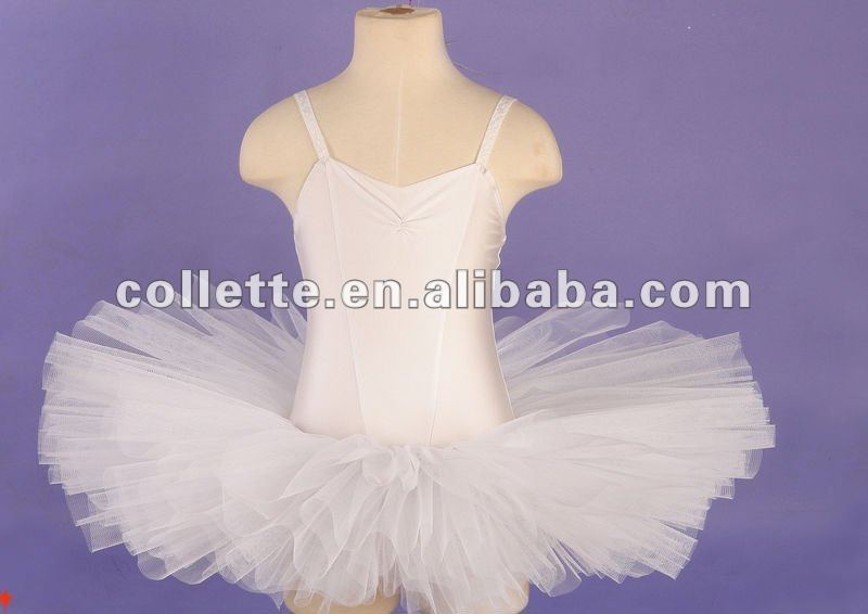 Stock wholesale 6 layers White ballet tutus