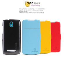 Fashionable Nillkin Fresh Series Smart Leather Flip Cover For HTC Desire 500 Leather Case