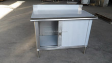 cheap price modern metal kitchen cabinet made in china
