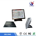 15 Inch fanless Industrial Panel pc with Resistance / Capacitive touch