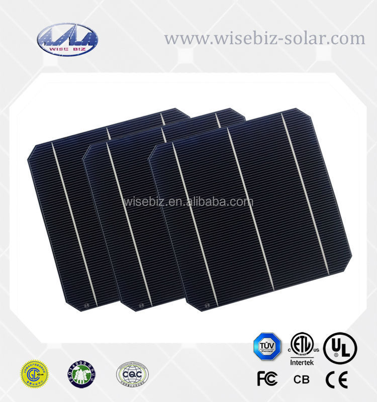 Hot sell and high efficiency 4.3w mono solar cell