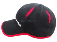 Classic black multi-panels hat woman sex with breathable mesh
