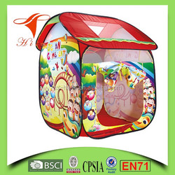 2016 hot sale kids play house tent