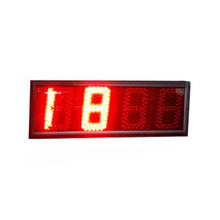 Plastic electronic led portable basketball scoreboard low price