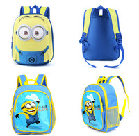 Manufacturer China Backpack Despicable Me 2015 Fashion School Bags