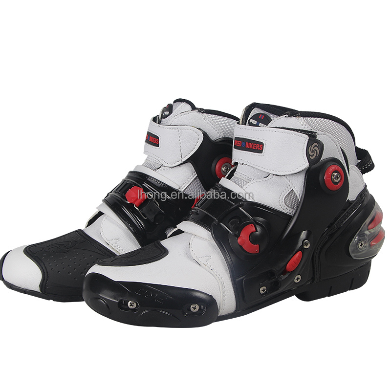 Waterproof Motorcycle Riding Boots Sport Shoes Motor Bike Shoes Mens Biker Boots