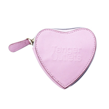 China Wholesale Hight Quality Heart Design Fancy PVC Coin Purse