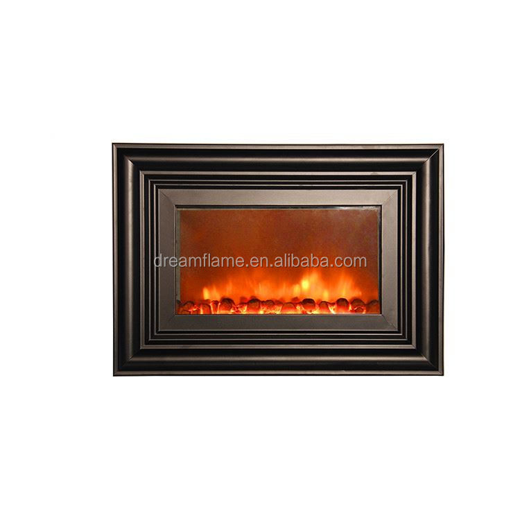 Factory supply good quality indoor fireplaces with speaker with different colors