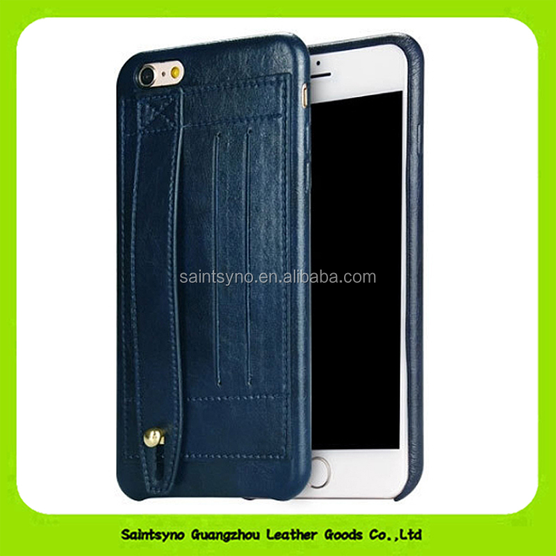 15108 Newly hand belt leather cover stand mobile phone case for iphone 6 6s 5 5s 5c for Samsung galaxy S3 S4 S5 S6 Note