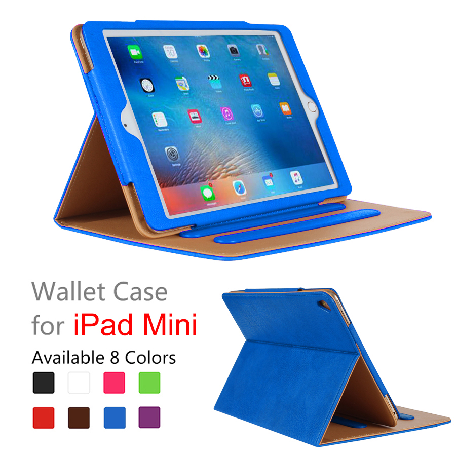 Factory price kindle cover for ipad mini leather case proof for ipad mini 3 shockproof case