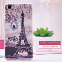 Ultra thin Tpu case for oppo r7 Transparent clear Phone Case , protective covers for oppo r7