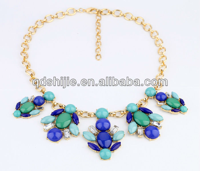 Fashionable Accessories Short Design Rhinestone Custom Jewelry Necklace