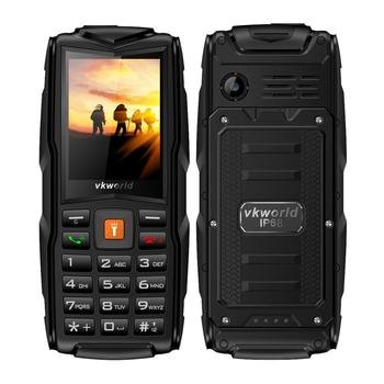 3000mAH Big Battery Long Standby Dustproof Feature Phone 2G Rugged Cell Phone