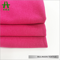 Special Sweater Solid Dyed Viscose Nylon Elastane Fabric