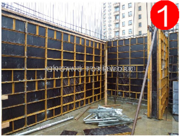 High Quality peri system formwork/Similer Peri Doka steel frame formwork used formwork for sale