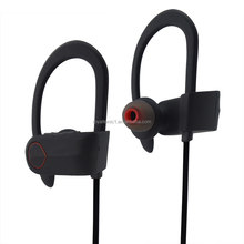 2017 Factory High Performance Colorful Private Label Wireless Ear Hook Sport Headphones,ear hook headphones with mic