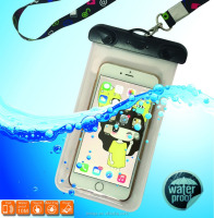 High quality cheap pvc phone waterproof case/cell phone waterproof dry bag/floating waterproof phone bag