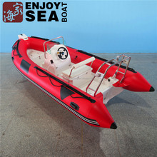 Hot sale! CE certification and PVC material Inflatable RIB 470 fiberglass boats with outboard motor made in China