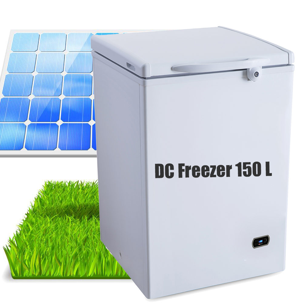 150l deep freezer DC solar power with 12v/24v price
