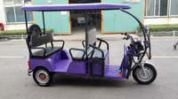 Elctric Laid back Tricycle 1000watt 60V for passenger for sale