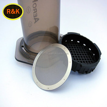 FREE Samples Ultra fine aeropress coffee filters / round SS filter disc