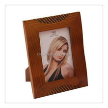 2015 crazy selling stained bamboo picture frames