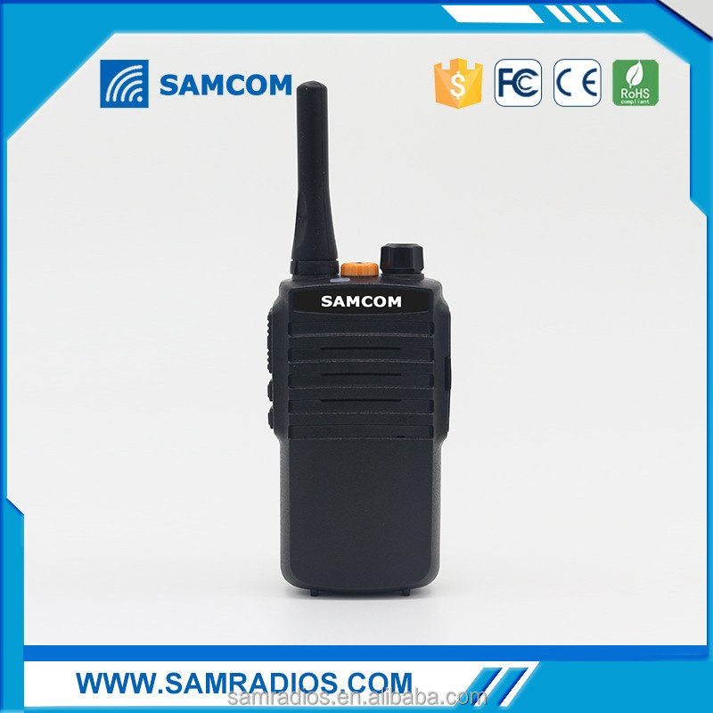 Hot sell SAMCOM 5C walkie talkie 144/220 ham radio Transceiver vhf two way radio