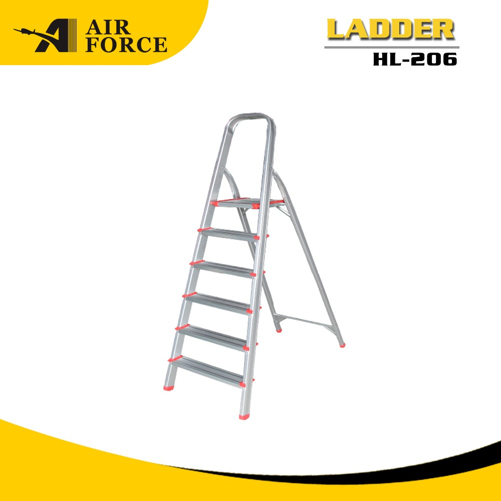 AF HL206 Best Price Mobile 6 Step Aluminum Super Ladder