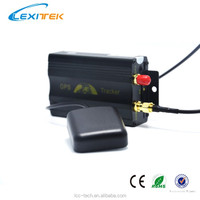 Hidden Car GPS TK103A GPS Car & Truck Tracking Device Vehicle Alarm System & Ultrasonic Fuel Sensors + Remote Engine Stop