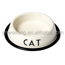 2017 new design metal cat bowl/dog bowl