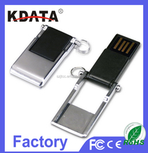 OEM Swivel Ultra Mini USB Flash Drive USB Flash Storage Stick USB 2.0 Flash Pen Drive