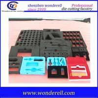 die cutting eva foam good quality pe or poron or eva foam die cutting supplier