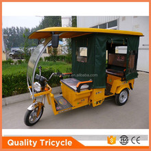 800W electric india bajaj style 6-passenger tricycle