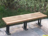 2015 wpc bench/ wpc wood bench/ wpc wood garden bench made in China
