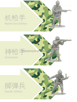 Military Plastic Models Toy Soldiers 2 inch Plastic Army Men Toys, plastic soldiers toys manufacturer