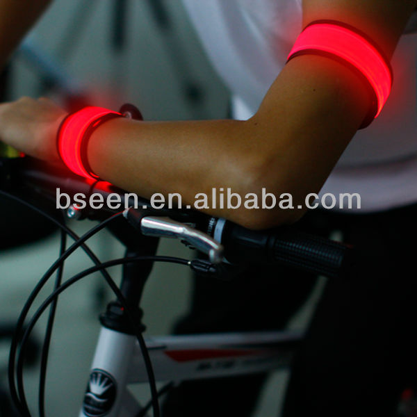LED slap armband bicycle party supplies