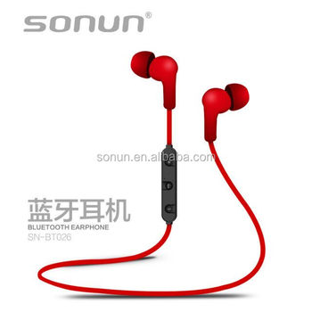 Sonun BT026 promitonal OEM CE ROHS bluetooth earphone for small ear