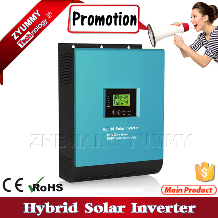 China manufacturer price hybrid solar inverter with mppt charge controller
