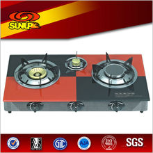 2013 New model gas stove (RD-GD003) japanese gas stove glass top cooker
