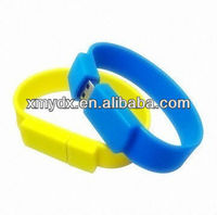 2013 Fashion Silicone USB Drive Memory Bracelets,Usb Smart Card Reader