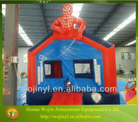 inflatables cartoon spiderman jumping castle