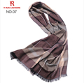SWC701 pure cashmere scarf men made in inner mongolian new style for 2016
