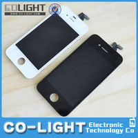 China supplier display lcd for iphone 4s, display touch screen for iphone 4s 100% original
