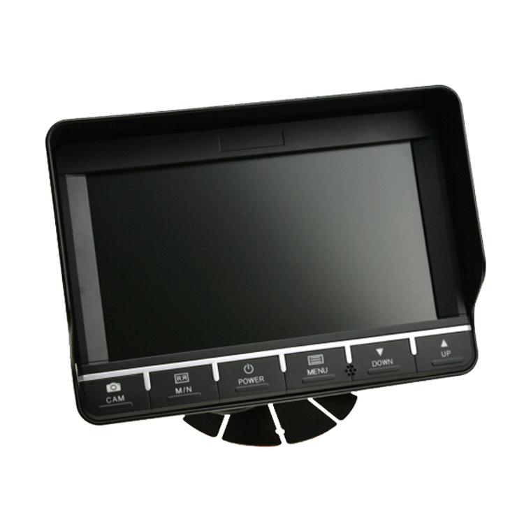 7 Inch LCD Digital Display with 4 pin connector and 2CH Iput